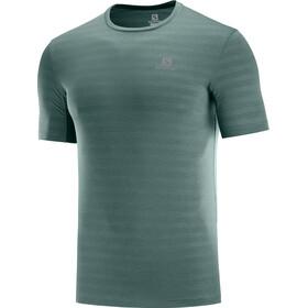 Salomon XA Camo Koszulka z krótkim rękawem Mężczyźni, balsam green/heather